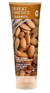 Desert Essence Hand and Body Lotion Almond, 8 ounce - Essence Lotion