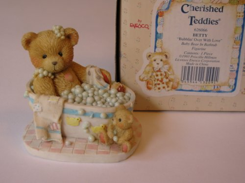 Cherished Teddies  Betty 626066  Bubblin Over With Love