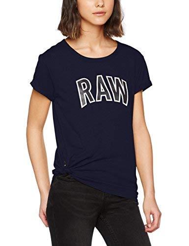TALLA L. G-STAR RAW Rovi Graphic SP R T Wmn S/S Camiseta para Mujer