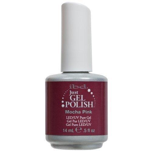 Ibd Just Gel Polish ''Mocha Pink #56504'' New Color by IBD