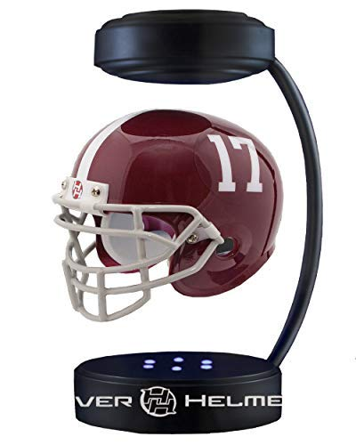 (Hover Helmets NCAA Alabama Crimson Tide NCAA-AL17KHover Helmet, Alabama Tide, Half)
