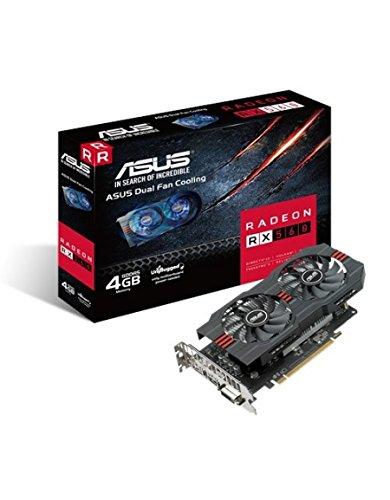 ASUS RX560-4G Radeon RX 560 4GB GDDR5 - Tarjeta gráfica (AMD ...