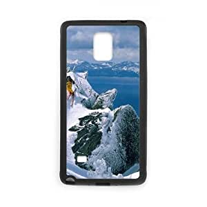 Skiing Samsung Galaxy Note 4 Cell Phone Case Black mljk