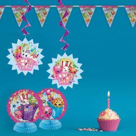 Amazon.com: Shopkins Decoraciones para fiesta de cumpleaños ...