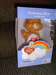Care Bears Tenderheart Bear Wobble Head Bobble Head Doll
