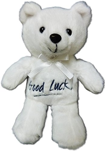 Anico Plush Toy, Occasional Stuffed Animal Bear, Good Luck, White]()