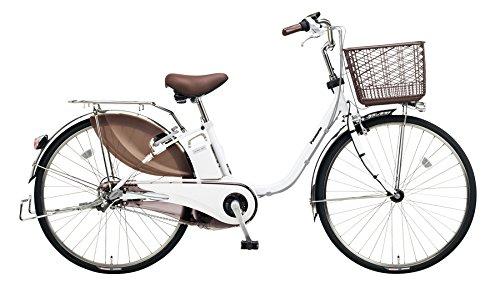 Panasonic(パナソニック) 2018年モデル ビビDX 26インチ BE-ELD634 電動アシスト自転車 専用充電器付 B078K2HYZ7 F:アクティブホワイト F:アクティブホワイト