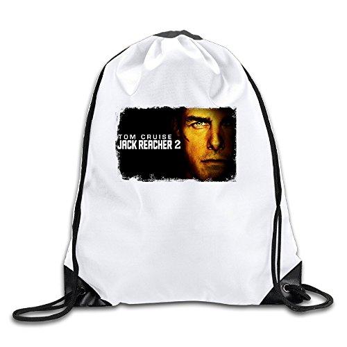 Logon 8 Jack Reacher Never Go Back Comfortable Drawstring Bags One Size