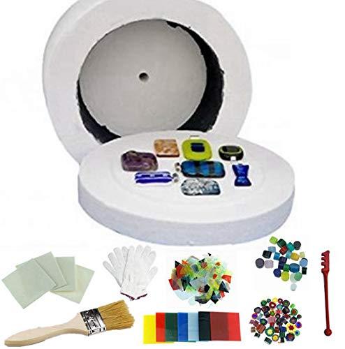 Professional Extra Large Microwave Kiln Kit 9 Piece Set Glass Fusing Kiln SSH-0791