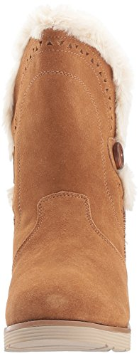 Skechers Mujer Peak Bronceado Keepsakes Cozy Wedge Wzqw8zPY