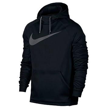 Nike M Nk Thrma Hoodie Carbon Swsh Sudadera, Hombre, (Negro/Dark Grey), M: Amazon.es: Deportes y aire libre