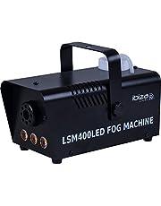 Ibiza LSM400 rookmachine, zwart