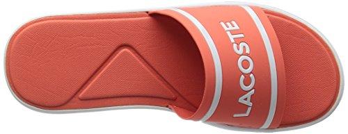 Lacoste Frauen L.30 Slide 118 1 Caw Sneaker Rosa / Weiß