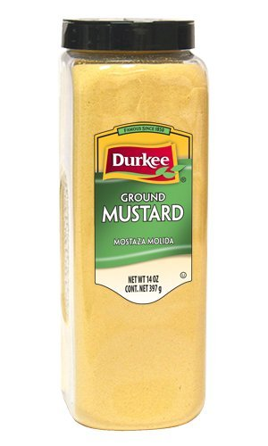 Durkee Mustard Seed, Ground, 14-Ounces Packages (Pack of ()