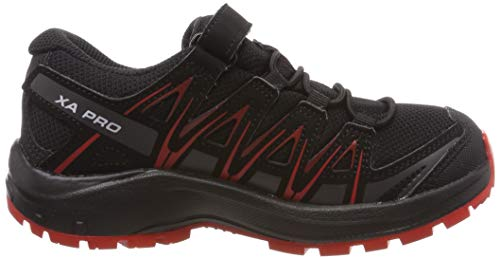 Da Impermeabili Running Nero Pro Cswp black Salomon Scarpe black Xa 3d high Red Trail Bambini J Risk HwffY