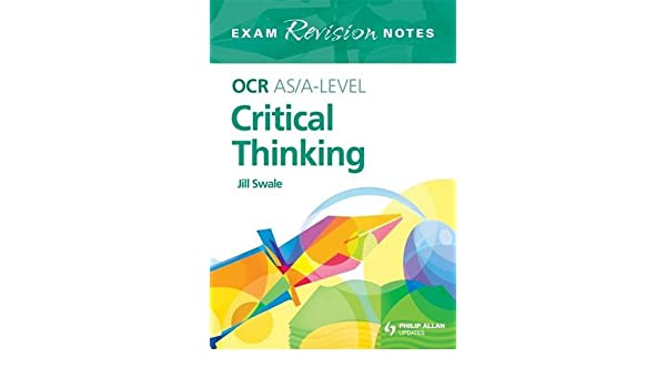 Philosophy  PHIL      Critical Thinking  Revision