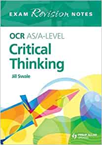critical thinking a level exam papers Ocr as/a level gce critical thinking qualification information including specification, exam materials, teaching resources, learning resources.