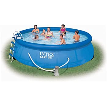 Intex Easy Set 15-Foot-by-42-Inch Round Pool Set