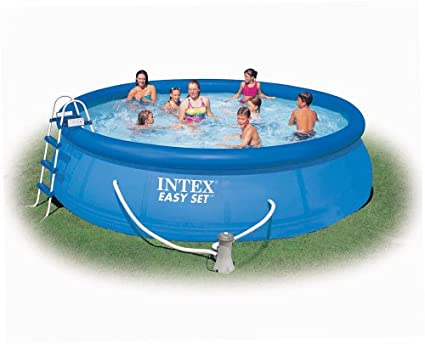 Amazon Intex Easy Set 15 Foot By 42 Inch Round Pool Set Full