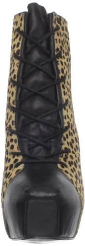 Womens Boot Multi Johnson Betsey Betsey Tipps P Johnson Leopard Ankle 6qgtW