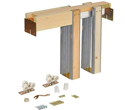 - Johnson Hardware 1500 Series Commercial Grade Pocket Door Frame For 2x4 Stud Wall (30 Inch x 80 Inch)