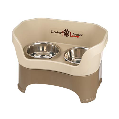 NEATER PET BRANDS Feeder Deluxe for Large Dogs, Cappuccino