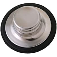 Master Plumber 738-070 MP Disposal Stopper, Stainless Steel