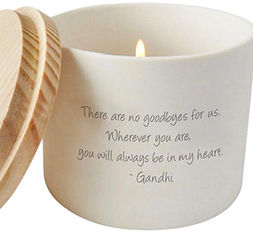 Cherished Memorial and Missing You Candle Holder or Jar | Sympathy Gift | Thinking of You | Bereavement Gift