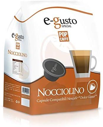 POP CAFFE' NESCAFE DOLCE GUSTO COMPATIBILE 48 CAPSULE CAPPUCCINO ALLA NOCCIOLA