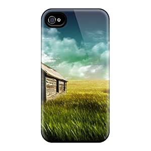 Defender Case With Nice Appearance (the Farm House Hd 1080p) For Iphone 5/5s