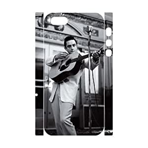 wugdiy New Fashion Cover 3D Case for iPhone 5,5S with custom Johnny Cash