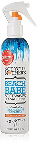 Not Your Mothers Beach Babe Soft Waves Sea Salt Spray, 8 Fl Oz, Pack of 2