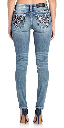 Miss Me On The Rise Skinny Jeans (Miss Me Dark Skinny Jeans)