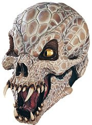 New Scary Rattle Snake Reptile Halloween Costume Mask Adult (Reptile Mask)