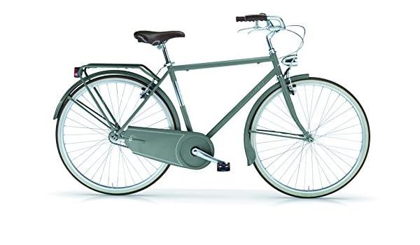 MBM Moonlight - Bicicleta para Hombre sin Cambios, Hombre, Moonlight, Verde Militar: Amazon.es: Deportes y aire libre