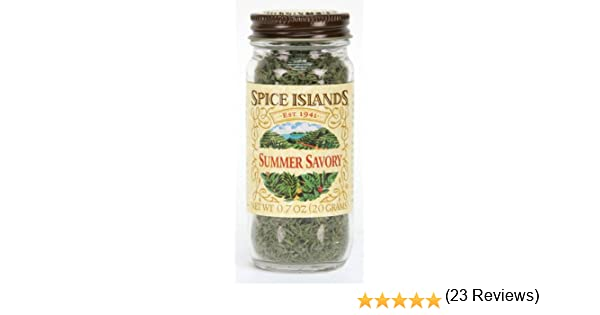 What is a spice that is referred to as savory?