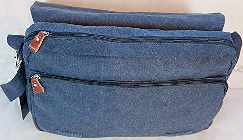En Format Toile Homme Et Accepté Femme Épaule Bleu Besace A4 Bandoulière Cours L11 Sac Gibecière Porté Messenger Livan® 081BqY8w