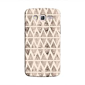Cover It Up - Stone Triangles Pink Galaxy J2 Hard case