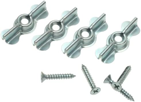 Stanley Hardware 762000 1-3//4 Zinc Full Turn Button 4 Count
