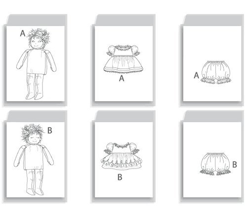 Buy vogue doll clothes pattern