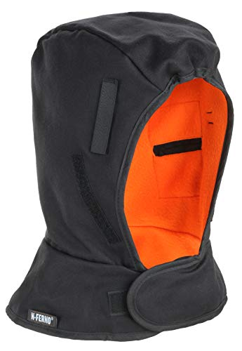 N-Ferno 6862 Hard Hat Winter Liner, Flame Resistant Outer Shell, Thermal Fleece Lining ()