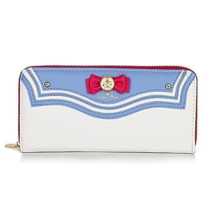 Cosplay Sailor Moon Women Wallet RFID Blocking Pu Leather Card Holder Purse