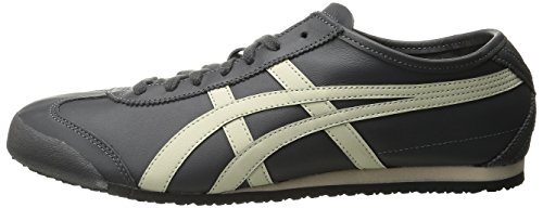 new style 88c73 24ae4 onitsuka tiger mexico 66 black off white