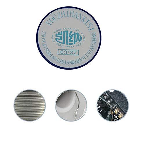 JICHUI Mini rollo de esta/ño colofonia base de la resina fundente de soldadura para el soldador de alambre de hierro Bobina