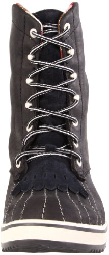 Sorel 18 Black Silver Tivoli Leather Lining Camp Women's Boot OqxOtPrw