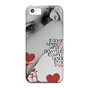 Waterdrop Snap-on Love Cases For Iphone 5c