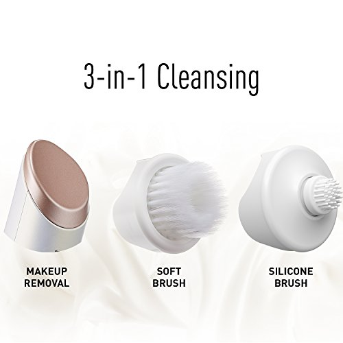 Panasonic EH-XC10-N Micro-Foaming Facial Cleansing Brush with Warming Makeup Removal Plate, 20.16 Ounce by Panasonic (Image #5)