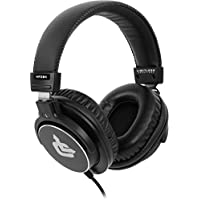 Limitless Creations Over-Ear [45mm Dynamic Driver] Professional Studio Monitor Headphones [HP3BK]