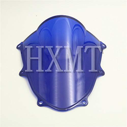 WALKER TRENT - For Suzuki GSXR 1000 R K9 K17 2017 2018 Blue motorcycle motorbike Windshield WindScreen Double Bubble GSXR1000 R GSX GSX-R 1000