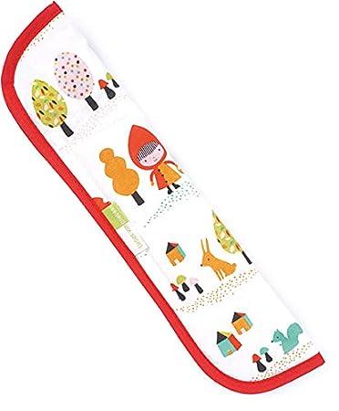 waschbar bei 30 Grad Design:Piraten Priebes Sven Gurtpolster f/ür Auto-Sicherheitsgurt//Gurtschoner f/ür Fahrrad-Kindersitz /& Fahrradanh/änger//L/änge 34cm 100/% Baumwolle